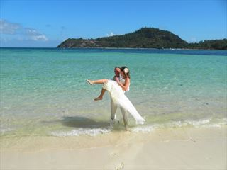 Wedded bliss at Constance Ephélia
