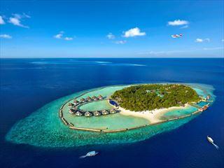 Ellaidhoo Maldives Aerial view