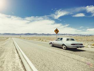 American highway in Utah
