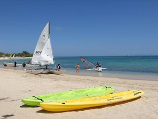 Beach-based activities at Breezes Jibacoa - Cuba Holidays