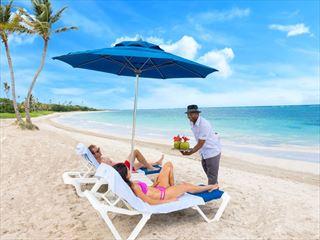 Butler Couple On Beach Serenity