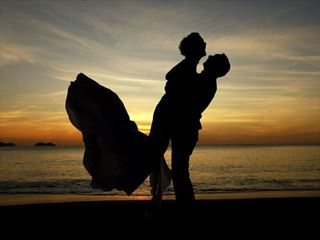 Wedding sunsets at Calabash Cove
