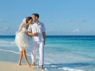 Bride & Groom at Dreams Tulum Resort & Spa
