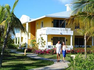 Exterior view of the hotel rooms at Paradisus Varadero