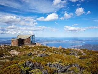 Hobart view from Mount Wellington