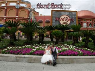 Hard Rock Cafe Orlando wedding