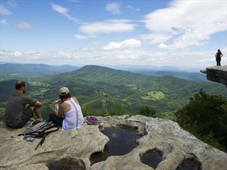 McAfee Knob on Catawba Mountain