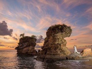 Beautiful & stuning, Jade Mountain wedding