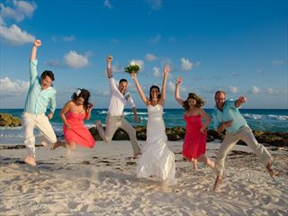 Wedding celebrations at Ocean Two Resort