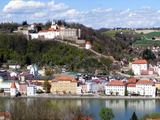 Passau on the River Danube