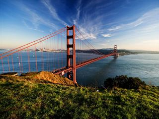 San Francisco's stunning Golden Gate Bridge