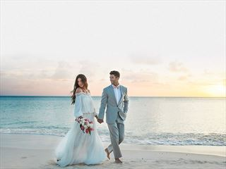 Sandals Barbados Bride & Groom