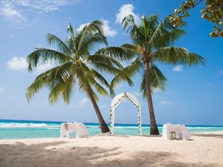 A beautiful Barbados wedding setting