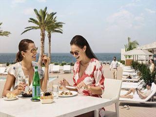 Saturday brunch at Scape Restaurant & Lounge, Burj al Arab
