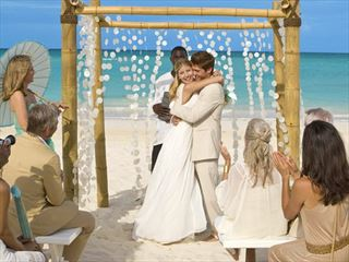 Beautiful Beginnings wedding at Sandals Emerald Bay