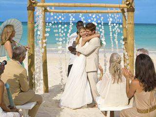 Beautiful Beginnings wedding at Sandals Emerald Bay