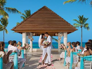 The wedding gazebo at Secrets Royal Beach Punta Cana