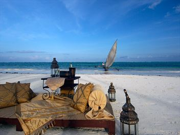Top 10 beach hotels in Zanzibar