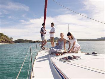 Exploring the Whitsunday Islands