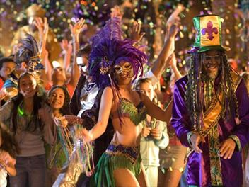 Join the Mardi Gras Parade in New Orleans