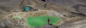 Camilla Rutherford, Tongariro Alpine Crossing