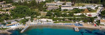 Aerial view of Aeolos Beach Resort
