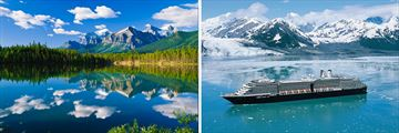 Banff National Park and Holland America Alaskan cruise (2020 sailings will be on MS Koningsdam)