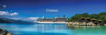 Celebrity cruise ship in the Caribbean