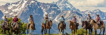 Horse Riding at The Chilko Experience Wilderness Resort