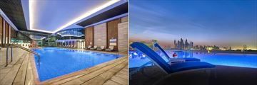 Indoor and Outdoor Pools at Dukes Dubai