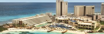 Aerial view of Hyatt Ziva Cancun