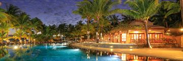 Mauricia Beachcomber Resort & Spa, Pool and Bay Watch Bar