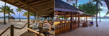 Royal Palm restaurant at Palm Island Resort & Spa