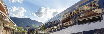 Rocky Mountaineer at Glenwood Springs