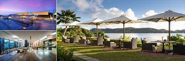 Dining at Raffles Seychelles