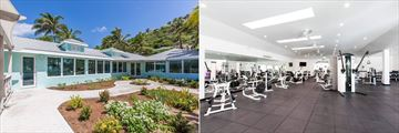 Fitness Center at St James' Club and Villas