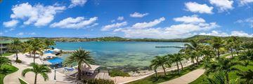 Resort and Sea view at St James' Club and Villas