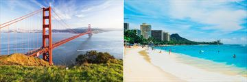 San Francisco and Hawaii