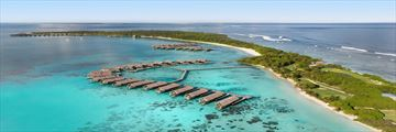 Aerial View at Shangri La Villingili Resort & Spa