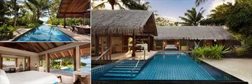 Beach Villa at Shangri La Villingili Resort & Spa