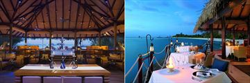 Equator Bar and Deep End restaurant at Taj Exotica Resort & Spa
