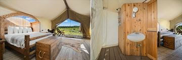 Under Canvas Yellowstone Stargazer Tent