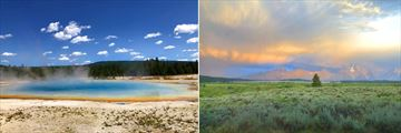 Yellowstone and Grand Teton