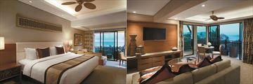 Beautiful suites at Shangri-La's Rasa Ria Resort & Spa