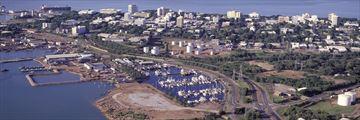 Aerial view of Darwin