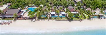 Aerial View of Peace Resort Samui