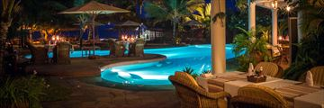 The Terrace at AfroChic Diani Beach Hotel
