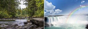 Beautiful scenery of Algonquin Provincial Park & Niagara Falls, Canada