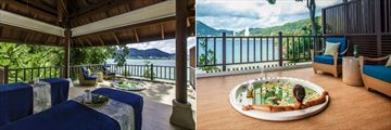 Amari Phuket, Breeze Spa Couples Treatment Pavilion and Breeze Spa Jacuzzi