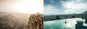 Anantara Al Jabal Al Akhdar Resort, Yoga and Pool